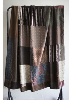 $395 Great neutral colored vintage kimono blanket available online.