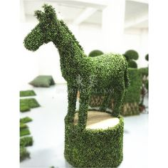 TLA-07-01 UV Protection Artificial Topiary Horse