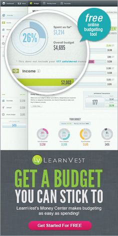 FREE Account Tracking and Budgeting -- Start Your Finances Off Right in 2013!