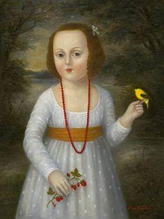 Strawberry Girl - Fatima Ronquillo