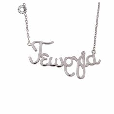Name Necklace, Names, Silver, Necklaces, Jewelry, Jewlery, Jewerly, Schmuck, Jewels