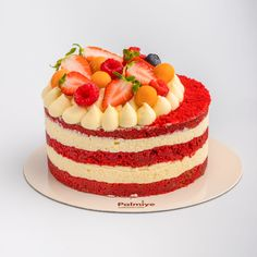 red velvet cake Velvet Cake, Red Velvet, Pavlova, Oreo, Cheesecake, Sweets, Eat, Desserts, Food
