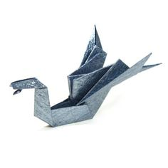 How to make a traditional origami dragon: page 1