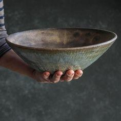 The Progress Collection - Serving Bowl — MMclay - Handmade Pottery & Ceramics by MaryMar Keenan - Pottery designs - Thrown Pottery, Pottery Plates, Slab Pottery, Ceramic Pottery, Pottery Vase, Pottery Wheel, Pho Bowl, Ramen Bowl, Keramik Design