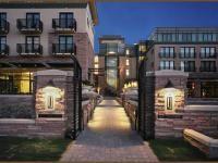 Boulder Colorado's St Julien Hotel & Spa at night.