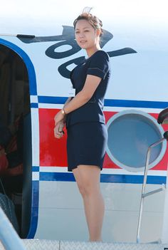 Air Koryo (North Korea) Stewardess,16 Sept 2014, http://www.jiji.com