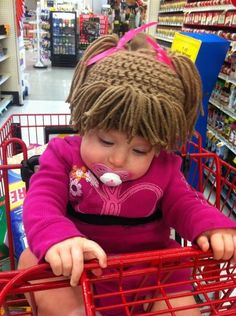 Love the knit cabbage patch hat!!! My daughter needs it bc she's still so bald!!