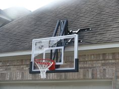 1000 images about basketball on pinterest indoor for Basketball hoop inside garage