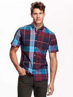 Men's Slim-Fit Classic Shirt Product Image