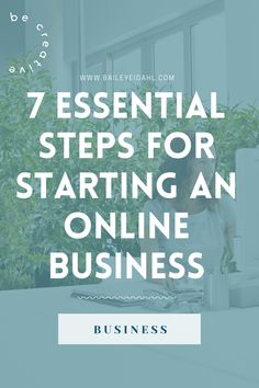 Launch your online business by following these seven simple steps. entrepreneur • business for beginners • business tips • web designer • creative business • start-up • women entrepreneurs • beginners guide • business checklist • business ideas • business motivation • starting a business Start Online Business, Starting A Business, Creative Business, Business Ideas, Freelance Graphic Design, Business Motivation, Business Entrepreneur, Web Design, Product Launch