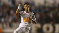 Neymar gol Santos (Foto: Alex Silva / Ag. Estado)