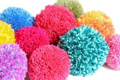 According to Matt...: Pom Pom Flower Tutorial