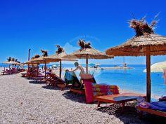 MAKARSKA - Buba beach Riviera Beach, Beaches, Patio, Outdoor Decor, Yard, Terrace