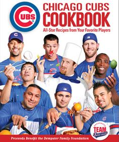 Chicago Cubs Cookbook! good for my brother for christmas!