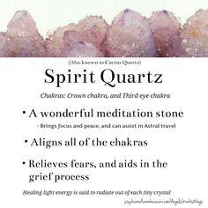 Spirit Quartz (Cactus Quartz) crystal meaning