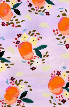 Design Love Fest - Dress your tech Fruit Pattern, Pattern Art, Pattern Design, Textures Patterns, Print Patterns, Floral Patterns, Surface Design, Surface Pattern, Dress Your Tech