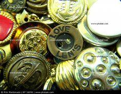 Botones De Metal