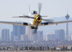 """Nellis Air Force Base """"Aviation Nation"""" Airshow.P-51"""