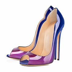 173bb47fa271d Femme Polyuréthane Printemps   Eté   Automne Chaussures à Talons Talon  Aiguille Bout ouvert Bleu   Noir   Rouge   Amande   Mariage   Soirée    Evénement ...