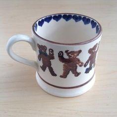Teddies (Blue) Baby Mug 1986-1988 (Barneys New York Exclusive) Discontinued