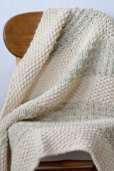 Easy Heirloom Knit Blanket Pattern – Mama In A Stitch