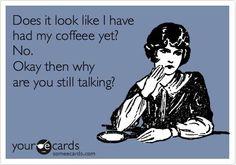 coffee. black. now.