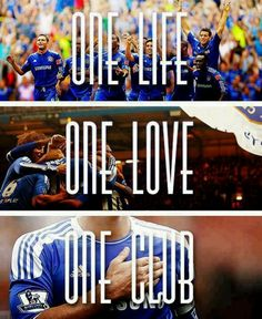 One life. One love. One club. One Chelsea FC Chelsea Soccer, Chelsea Blue, Club Chelsea, Chelsea Fans, Psg, Real Madrid, Chelsea Champions, Soccer Drills For Kids, Go Blue