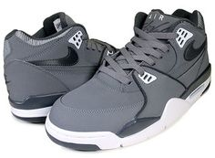 NIKE AIR FLIGHT '89 c.gry/anthracite-wht