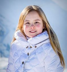 Princess Ariane of The Netherlands during the annual winter photo call on February 2018 in Lech, Austria.