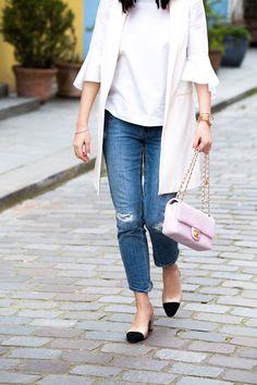 Chanel Bag & Slingbacks