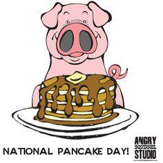 Happy Mardi Gras and National Pancake Day!