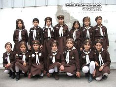 Girlscouts around the world: Brownie Guides from Palestine