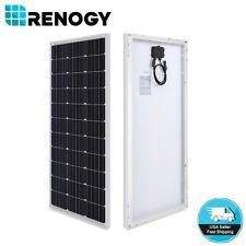 Compact Design Renogy 100 Watt 12 Volt Monocrystalline Solar Panel 100w 12v Solar Panels Best Solar Panels Solar Panel Installation