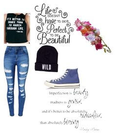 """be wild"" by celestia21 ❤ liked on Polyvore featuring art"