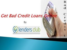 Lenders Club is a renowned online marketplace to shop exciting loan deals for the various financial purposes. The entire loan deals are provided on competitive APRs and flexible repayment terms. For more information, visit: http://goo.gl/FUEPGj