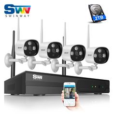 214.83$  Watch here - New Plug And Play 4CH Wireless NVR CCTV System+2TB HDD&1080P HD Outdoor Waterproof+Indoor WIFI IR Security CCTV Cameras Video  #magazineonline