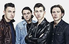 Arctic Monkeys  it is like they were looking right at me  is amazing and odd but i love it