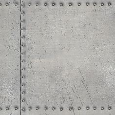 Dutch Oxford behang 2604-21252 Riveted Industrial Tile