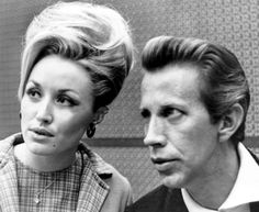 "harder-than-you-think: "" Dolly Parton and Porter Wagoner, late 1960's. """