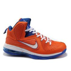 cozy fresh b8d74 13f4e Cheap Nike Lebron 9 Orange White Blue  Cheap-Jordans-0470  -  59.99   Cheap  Nike Free Run Shoes, Cheap Tiffany Free Runs, Tiffany Blue Nikes Online  Outlet!, ...
