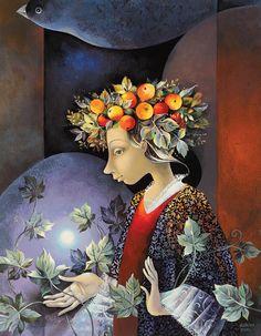'ANGEL WITH WREATH' by Aurika Piliponiene.