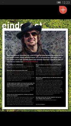 New Revolver magazine is off to the Printer's :) ft Richie Sambora interview, pic shot by me :) #photography #richiesambora #revolver