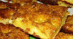 Μπατζίνα Θεσσαλίας!!! -idiva.gr Greek Sweets, Greek Desserts, Greek Recipes, Pureed Food Recipes, Flour Recipes, Cooking Recipes, Healthy Recipes, Greek Pita, Greek Pastries