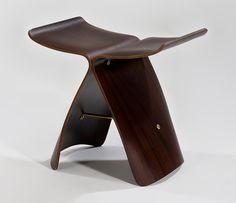 Sori Yanagi's Butterfly Stool £217 from Designers Revolt. Original quality designer classics at a fraction of the high street price. Join the Designers Revolt!