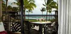 Koa Kea beach resort in Kauai. the service was impeccable!