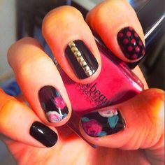Nailed it! #Floral #NailPolish #F21Cosmetics