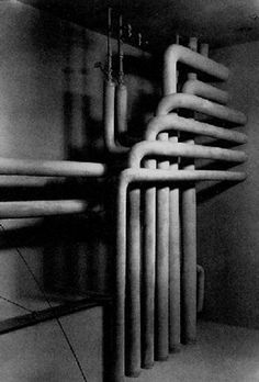Werner Mantz - Heizungsrohre (Heating pipes), 1929