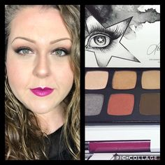 Smokey eye and berry lips. Dream On Palette on the eyes. Ash Enduring Lip Color on lips. Find me on Facebook-www.facebook.com/drkrusing   All products can be found at www.daniellekrusing.com