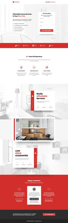 Home management is made simple with this template. Showcase your services, testimonials, and other social proof and have the leads rolling in.