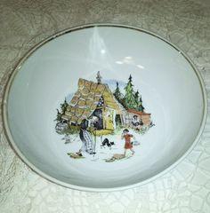 Hollóházi jancsi és Juliska mese tányér - Porcelán   Galéria Savaria online piactér - Antik, műtárgy, régiség vásárlás és eladás